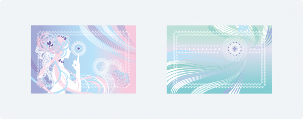 「SuLali」カードデザイン