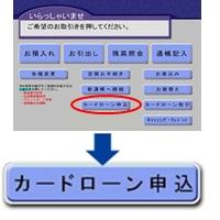 ②「ATMカードローン」は銀行からの招待がなければ利用できない