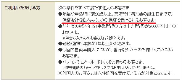 三菱UFJ銀行「ネットDEマイカーローン」