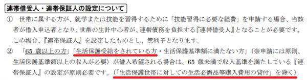 連帯借受人・連帯保証人の設定について|大阪府社会福祉協議会公式HP