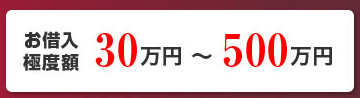 滋賀銀行公式HPより:お借り入れ極度額