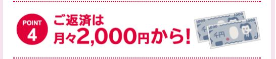 山陰合同銀行 ご返済は月々2000円から