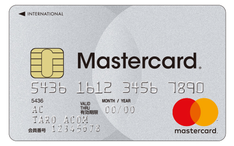 ACマスターカードの盤面(表)