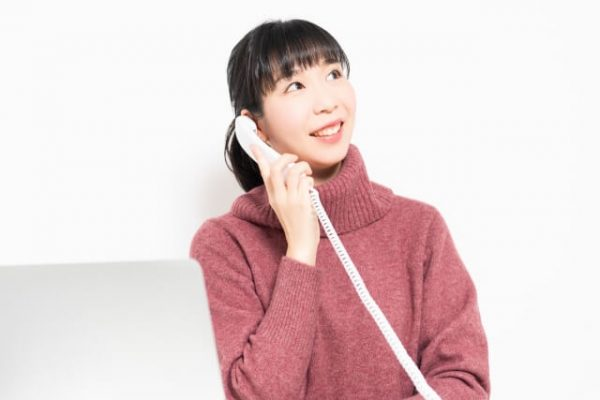「電話を使った在籍確認」を行う場合、勤務先への電話はどのように入る?