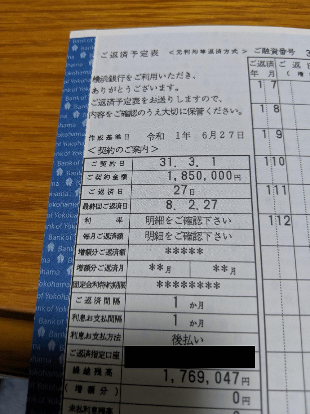 横浜銀行ユーザーBさんの「契約を証明できる画像」