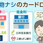 【即日VS銀行】郵送物なしで借りれるカードローンはここだ!おすすめ3選と注意点