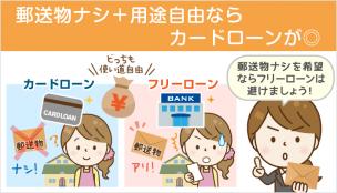 郵送物なしの銀行フリーローンは未確認:家族バレ回避なら「カードローン」を選ぼう