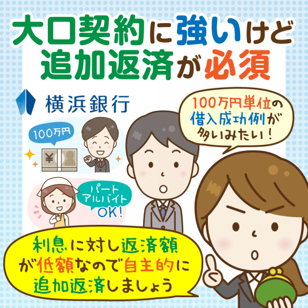 【2020年版】横浜銀行カードローンのメリット・デメリットと契約の流れ