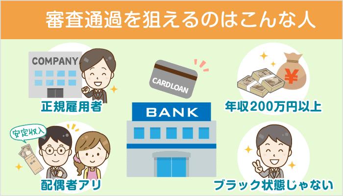体験談から見る!銀行カードローンの審査通過条件と申込み~返済の流れ