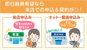【ブラック&即日融資可】今すぐ借りられる中小消費者金融/街金一覧
